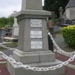 Moon-sur-Elle, plaque Lieutenant William McGowan