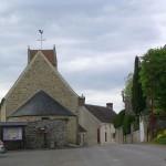 Francheville, le centre du bourg