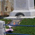 Lougé-sur-Maire, plaque 3rd Armored Division