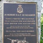 Bréel, stèle aviateurs Royal Air Force
