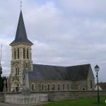 La Villette, l'église