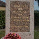 Dozulé, monument Commandos
