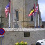 Saint-Côme-du-Mont, plaque Lieutenant Judels