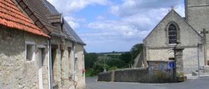 Saint-Martin-de-Varreville, ville lettrine