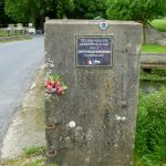 Vaux-sur-Aure, plaque South Wales Borderers