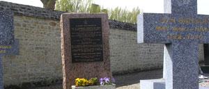 Auvers, monument lettrine
