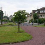 Bretteville-sur-Odon, place de l'église