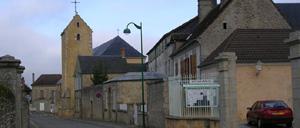 Champfleur, ville lettrine