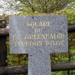 Espins, stèle Flight-Lieutenant Greenhalgh