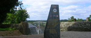 Osmanville, monument lettrine