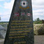 Osmanville, stèle RAF