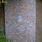 Trois-Monts, stèle Lieutenant Donald Newcombe