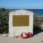 Vierville-sur-Mer, stèle Royal Air Force