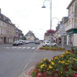 Aunay-sur-Odon, le centre ville