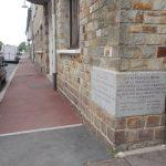 Aunay-sur-Odon, plaques juin 1944 et reconstruction