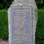 Branville, monument soldats anglais