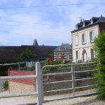 Cricqueville-en-Auge, le centre du bourg