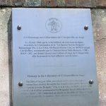 Cricqueville-en-Auge, plaque 1st Special Service Brigade