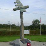 Bricquebec, monument aviateurs américains