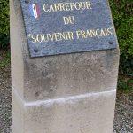 Cambremer, stèle du Souvenir français