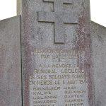 Champfleur, monument général Leclerc et 2e DB