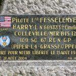 Commeaux, plaque 1st Lt Fesselemyer