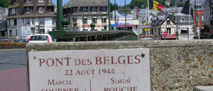 Deauville, monument lettrine