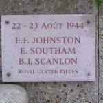 Deauville, plaque Royal Ulster Rifles
