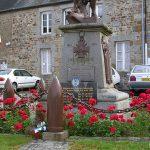 Lonlay-l'Abbaye, plaque aviateurs américains