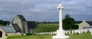 Brouay, cimetière lettrine
