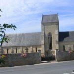 Fontaine-Étoupefour, l'église Saint-Pierre du XIIe siècle