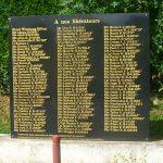 Putot-en-Bessin, monument soldats canadiens