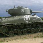Sainte-Marie-du-Mont, char Sherman M4 A1 E8