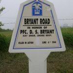 Sainte-Marie-du-Mont, panneau D. Bryant