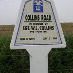 Sainte-Marie-du-Mont, panneau W. Collins