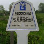 Saint-Martin-de-Varreville, panneau M. Prokopovich