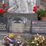 Carrouges, plaque général Leclerc