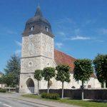 Fleuré, l'église Notre-Dame