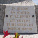 Lonlay-le-Tesson, plaque aviateurs et soldats américains