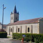 Aubry-en-Exmes, l'église des Trois paroisses