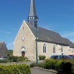 Vieux-Pont, l'église Saint-Hilaire