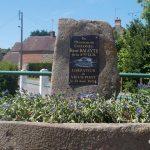 Vieux-Pont, stèle colonel Baleyte
