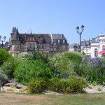 Cabourg, le jardin du Casino