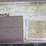 Cabourg, plaque du Coup de main
