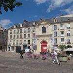 Caen, la place Saint-Sauveur
