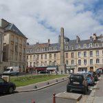 Caen, place Monseigneur des Hameaux