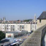 Caen, la ville vue du château