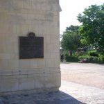 Caen, plaque combattants canadiens de l'Ontario
