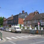 Cambremer, le centre ville