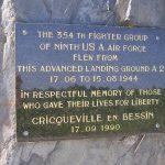 Cricqueville-en-Bessin, monument aérodrome A2